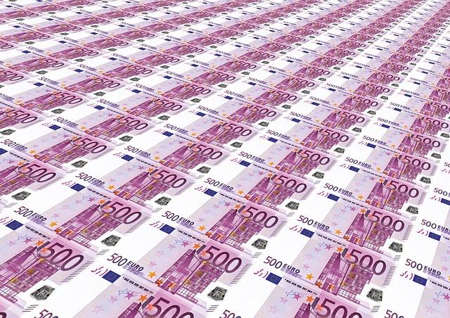 dinero billetes 500 euros