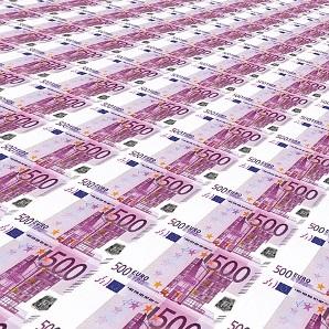dinero billetes 500 pequeña