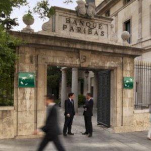 BNP Paribas sede pequeña