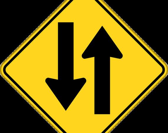 flechas dos direcciones