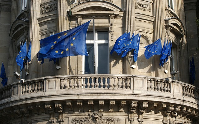 Unión europea banderas nueva