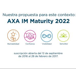 AXA IM Maturity 2022